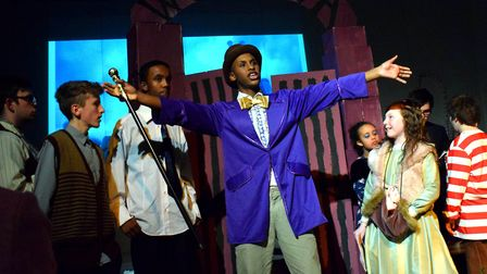 Samuel Rhodes School production of Charlie and the Chocolate Factory. Picture: Polly Hancock