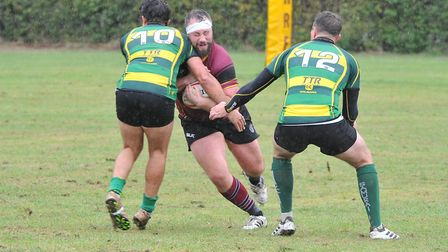 Finsbury Park in action against UCS Old Boys (Pic: Nick Cook)