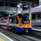 A Class 710 train on a late night testing run on the Gospel Oak to Barking Line. Picture: TfL