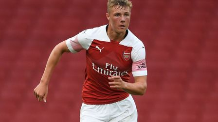 Daniel Ballard has been called up to the Northern Ireland senior squad for the first time. Picture: