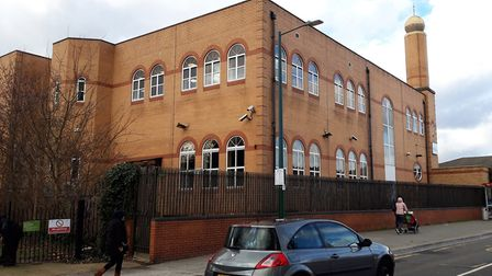 Al Madina Mosque in Barking, where MEN rented office space for six months after moving from Crown Ho