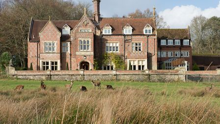 In the heart of the New Forest, boutique hotel Burley Manor is Heritage Listed