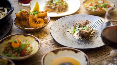 The kitchen's varied menu is subtly inspired by the Mediterranean