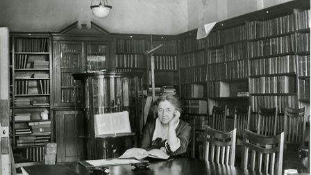 Lilian Lindsay at the BDA headquarters in Russell Square. Picture: British Dental Association