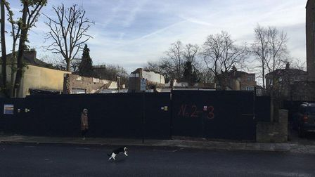 The Victorian villas were here in Hungerford Road. Picture: Islington Council