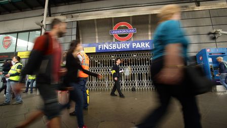 A file image of Finsbury Park Station. Picture: PA