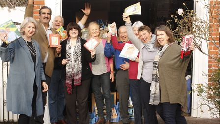 Friends of Cricklewood Library in 2017 after smashing their fundraising target to bring the space ba