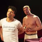 Lewis Brown and Freddie Hogan in Undetectable at the King's Head