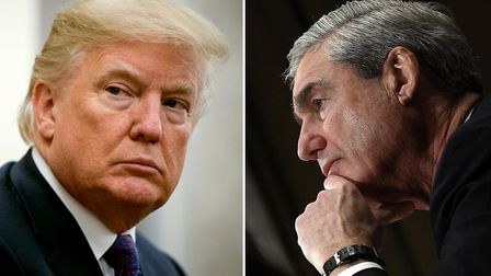President Trump and special counsel Robert Mueller. Photo: Jabin Botsford/The Washington Post/Getty