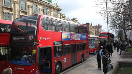 The 277 bus is being pemanently parked by TfL.