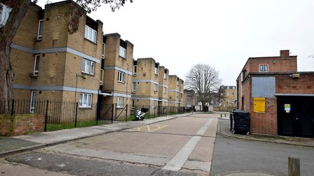 The Kerridge Court estate in Islington, where ex-council homes have sold for up to £455,000. Picture