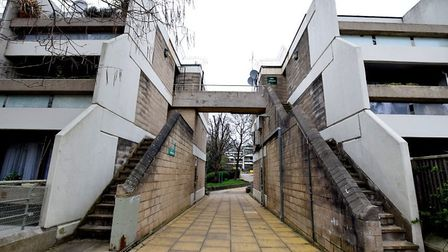 Stoneleigh Terrace on the Whittington Estate in Camden, where flats have sold for up to �815,000. Pi