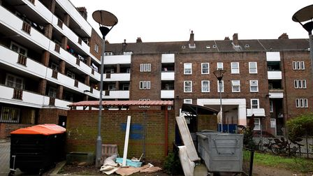 The Stamford Hill estate, where flats were selling for �415,000 in 2017. Picture: Polly Hancock