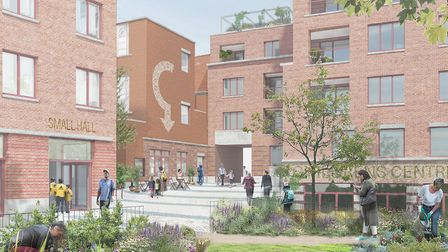 Image of how the Carlton and Granville Centre in South Kilburn might look. PHOTO: Brent Council