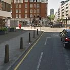 A 90-year-old man was hospitalised after being involved in a collision in Central Street. Picture: G