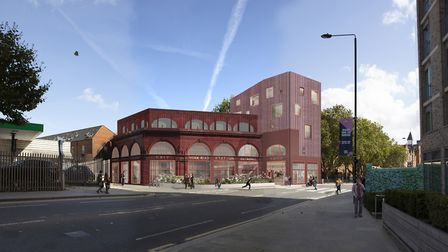 What a new homelessness shelter in Kings Cross could look like. Picture: Morris+Company