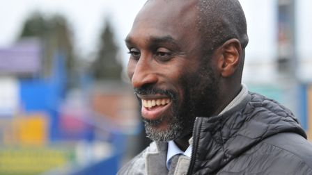 Arsenal Invincible and current Macclesfield Town boss Sol Campbell spoke exclusively to Islington Ga