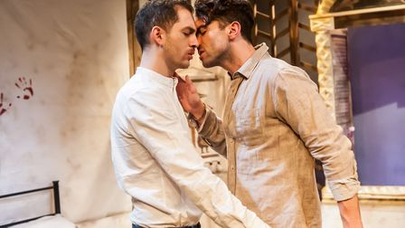 Cry Havoc James El-Sharawy and Marc Antolin at Park Theatre