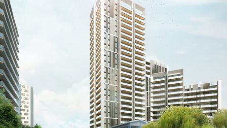 How Alperton's Minavil House will look when it's finished
