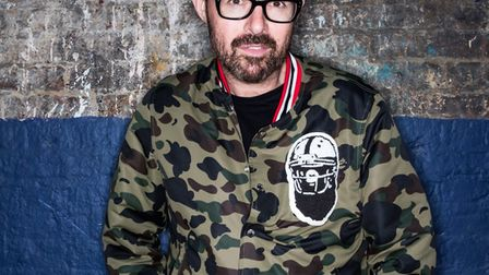Judge Jules plays with the backing of a live 10-piece band in London on Friday. Picture: Ryan Dinham