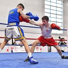 Dale Youth amateur John O'Meara goes on the attack (pic: England Boxing)