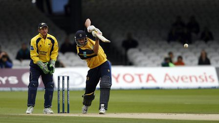 Middlesex assistant coach Nic Pothas in action for Hampshire for whom he played in three 50-over fin