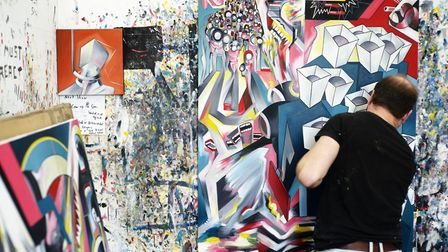 The show runs at Cass Art until May 12. Picture: Paul Samuel White.