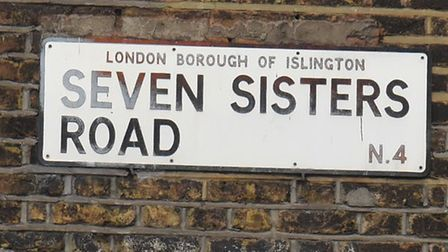 Seven Sisters Road. Picture: Ken Mears
