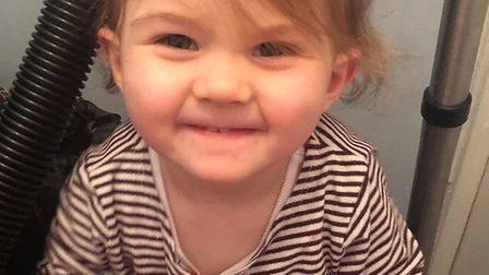 Three-year-old Bella died of unknown causes earlier this month and her family are crowdfunding to co