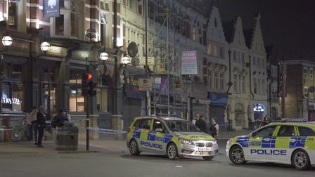 A 21-year-old man was stabbed to death in Harlesden High Street. Picture: Keith Matthews
