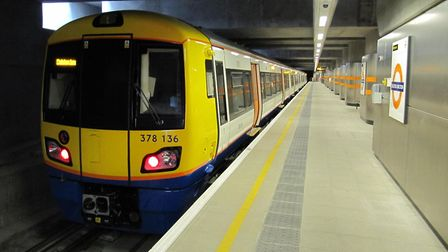An Overground train at Dalston Junction. Picture: Justin Foulger/Flickr/Creative Commons (licence CC