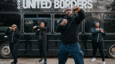 United Borders offers more than music production from its new bus thanks to Sonos partnership. Pictu