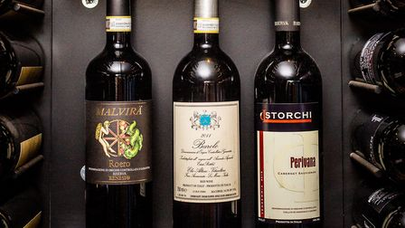 Enoteca Rabezzana features over 120 different bottles of wine from Italy. Picture: Tom Nicholson.