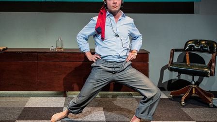 Ben Hood in Hell Yes I'm Tough Enough at Park Theatre