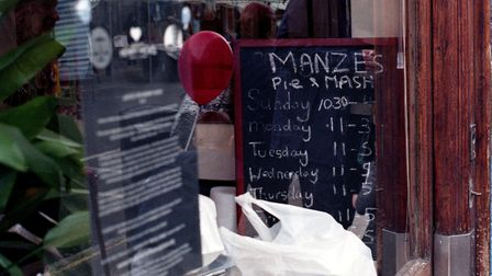 Pictures from M.Manzie which is closing down. Picture: Hayleigh Longman