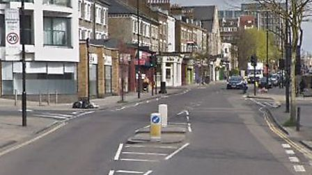 A moped driver was hit by a car in Junction Road. Picture: Google Maps