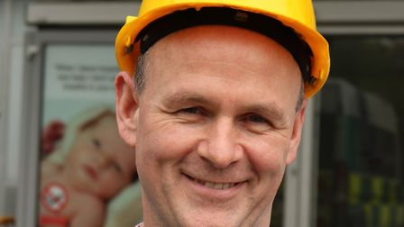 Paul Byrne has traded life as a roofer to become a midwife. Picture: LNWUH NHS