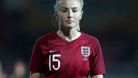 Arsenal and England's Leah Williamson (pic Bradley Collyer/PA)