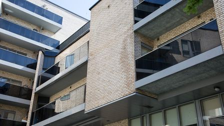 Contruction defects causing leaks at L&Q's Chase House newly built six years ago as part of South Ki