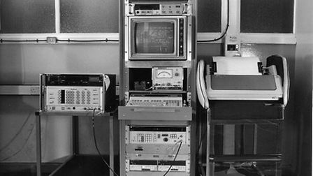 Computers from the old LTS site. Picture: LTSSAC