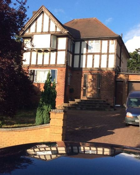 Diana Thompson's house of multiple occupation in Barn Way, Wembley. Picture: Brent Council