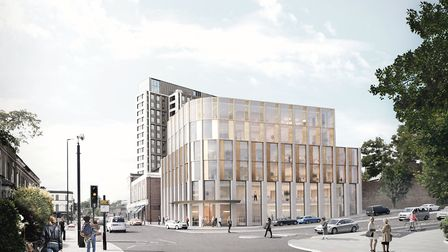 An indicative image of how the building could look. Picture: White Arkitekter