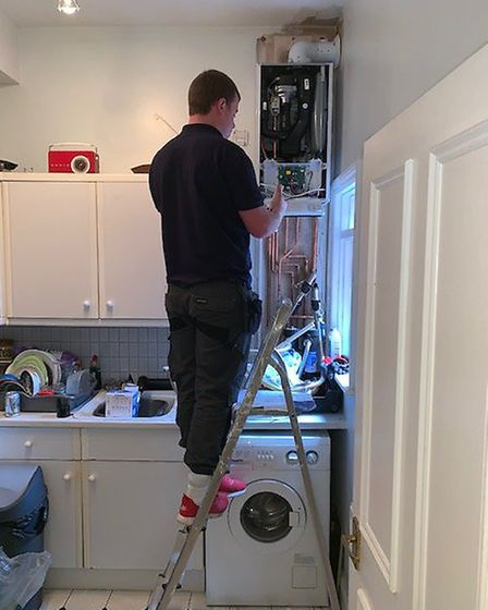 Tradeforce Gas & Heating engineers provide all heating and boiler maintenance services Picture: