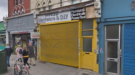 Shop4Less in Stroud Green Road. Picture: Google Maps