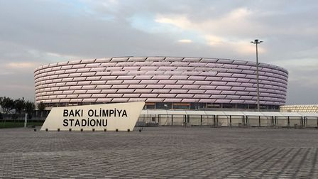 A general view of the Baku Olympic Stadium. Picture: Matt McGeehan/PA Archive/PA Images