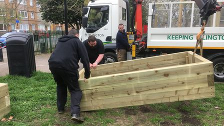 Wray Crescent Community Gardening project. Picture: Friends of Wray Crescent