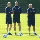 New Queens Park Rangers assistant manager Neil Banfield (right) previously spent 20 years working in