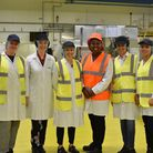 Dawn Butler MP on a visit McVities factory in 2018. Picture: Grahame Larter