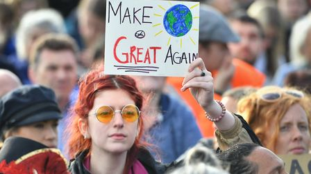 The Extinction Rebellion protests highllighted strong feelings. Picture: PA