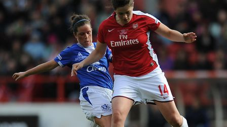 Arsenal have signed Jennifer Beattie for the second time (pic: Andrew Matthews/PA)